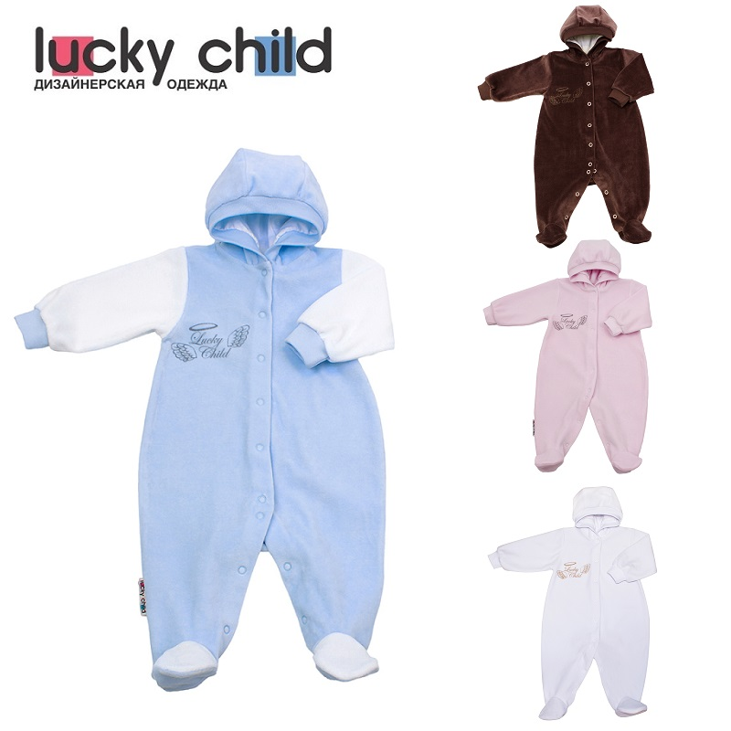 Jumpsuit Lucky Child for boys 17-3 (Angels) Children's clothes kids Rompers for baby baby rompers 100
