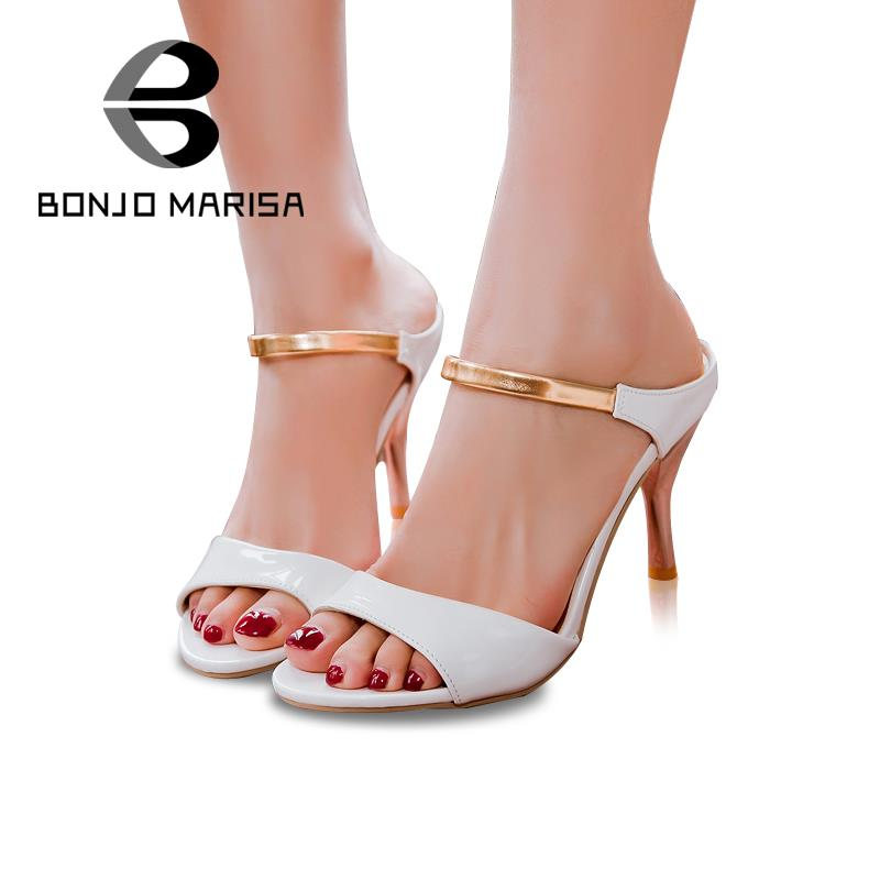 Plus Big size 34-43 Sexy High Heels Women Gladiator Sandals New Arrivals Open Toe Less Platform Party Weddig Summer Shoes