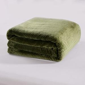 Image 3 - CAMMITEVER Ananas Überprüfen Flanell Werfen Gute Qualität Home Textil Plaid Air Zimmer Herbst/Winter Verwenden Warme Weiche Bettlaken