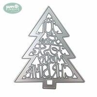 Fancy Christmas Tree Metal Cutting Dies For DIY Scrapbooking Paper Card Making
