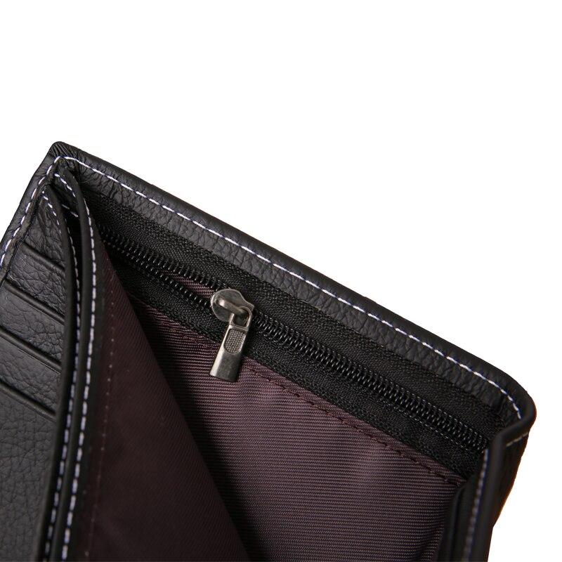 couro dos homens marca famosa Feather : Cheap Wallet/card Wallet For Coin Purse