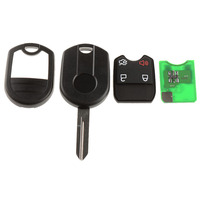 New 1 Piece 4 Buttons Remote Auto Key Fob Keyless Fob Transmitter For Ford Edge Replacements