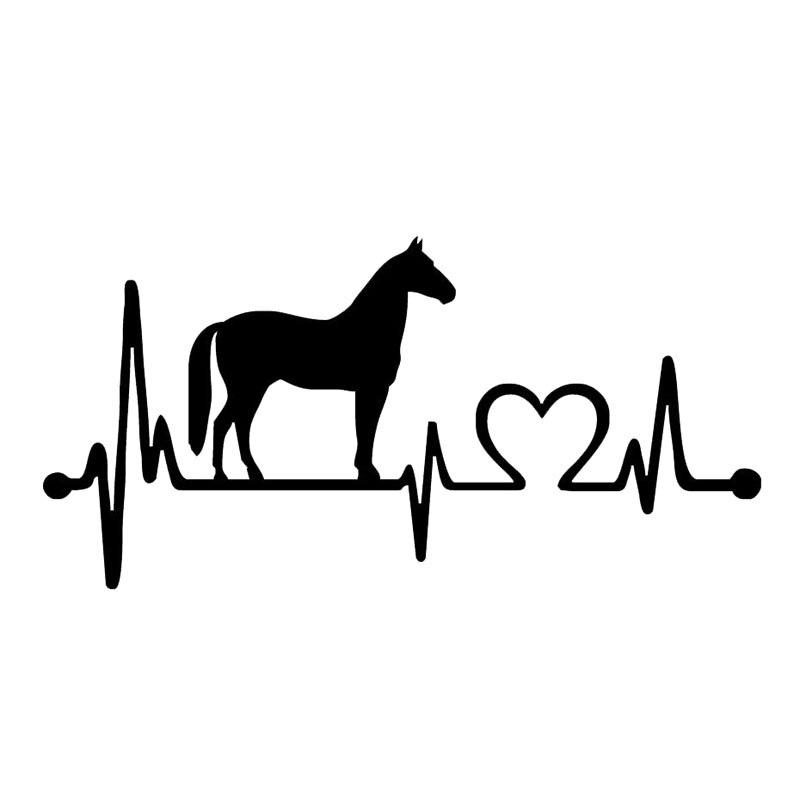 Aliexpress Com Buy 20 5 9 9cm Fashion Horse Heartbeat