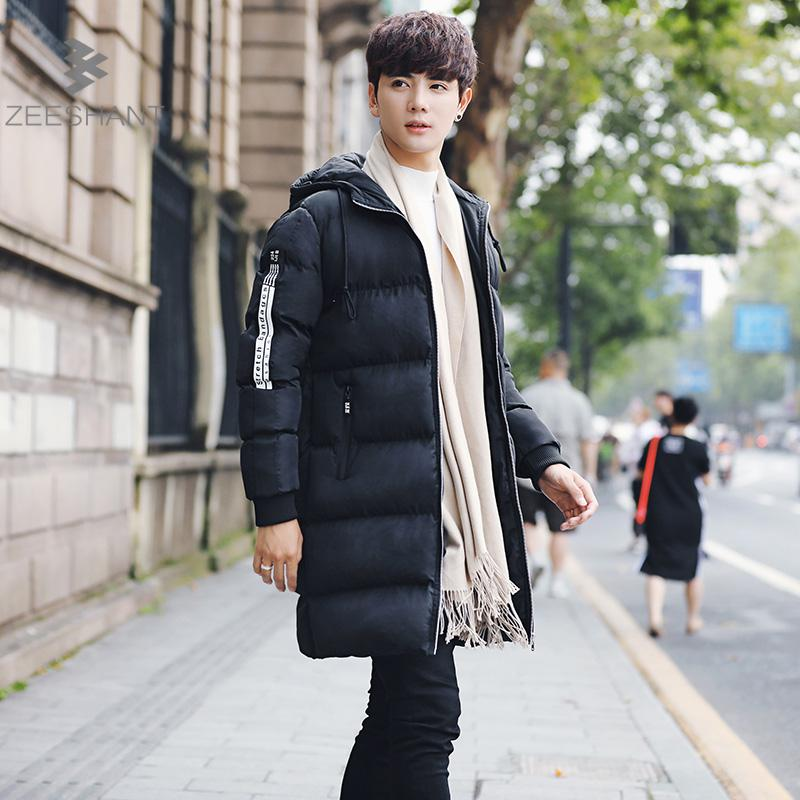 Zeeshant New Clothing Jackets Business Long Thick Winter Coat Men Solid Parka Fashion Overcoat Outerwear XXXL zeeshant new clothing jackets business long thick winter coat men solid parka fashion overcoat outerwear in men s parkas xxxl