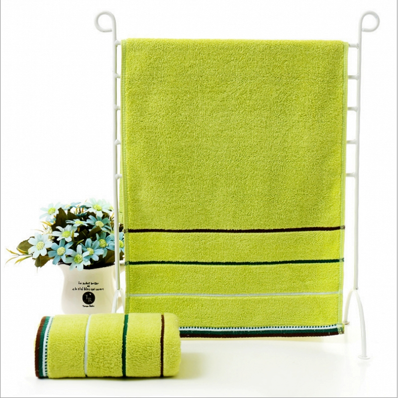35 75cm100 Cotton Embroidered Towel Sets Bamboo Beach Bath Towels For Adults Luxury Brand High Quality