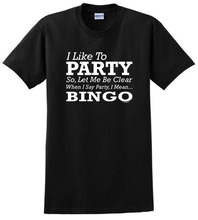 Funny Shirts Crew Neck Short Sleeve Gift I Like To Party For Men
