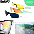 HBS-369 Sunglasses Smart Glasses Bluetooth V4.0+EDR Stereo In-ear Earphone for Bike Bicycle Travel Camping Hiking Fishing Car