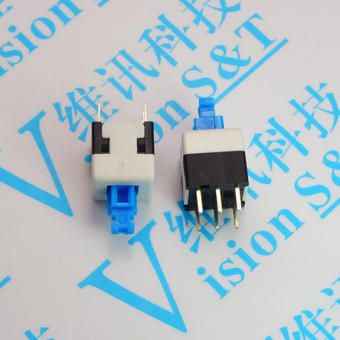 Lockable switch 10pcs power switch lock switch 8mm x 8mm touch lockable switch 10pcs power switch lock switch 8mm x 8mm touch lock switch 6 foot 6 pin publicscrutiny Images