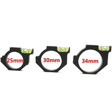 Metal Spirit Bubble Level per 25.4mm Rail Rifle Tube Sight Mirino Mirino Laser Anello Mount Holder Ottica Tattica Mirino Laser