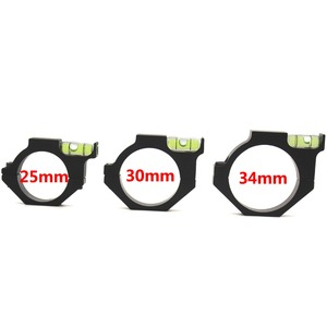 Metal Spirit Bubble Level for 34mm Rail Tube Sight Riflescope Scope Laser Ring Mount Holder Tactical Optics Laser Sight