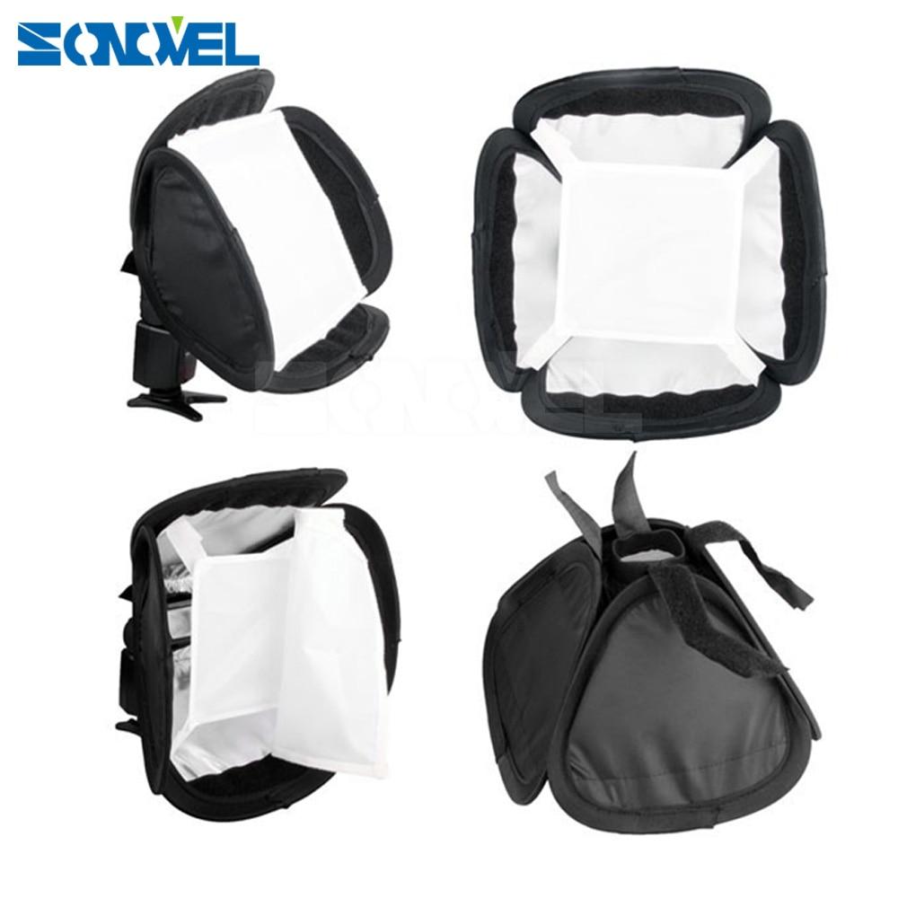 Flash Diffuser 23 x 23cm Soft Box softbox for Flash Light 430ex 580ex sb600 sb800 sb900