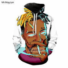Character 3D Print XXXTentacion Look at Me Hoodie Men/Women Hiphop Streetwear Sweatshirts Boys Rapper Tops Clothes Tracksuits