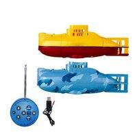 Mini Submarine RC Betriebsbereit Schnellboot Modell Leistungsstarke 3,7 V Große Modell RC Submarine Outdoor Spielzeug für Kinder
