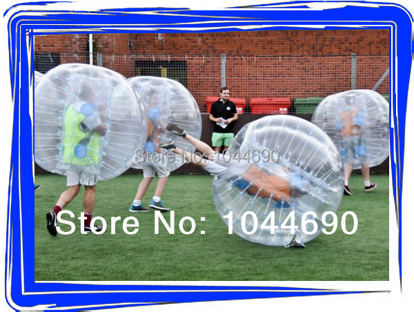 Top quality funny bubble football , bubble ball for football bumperz bubble football