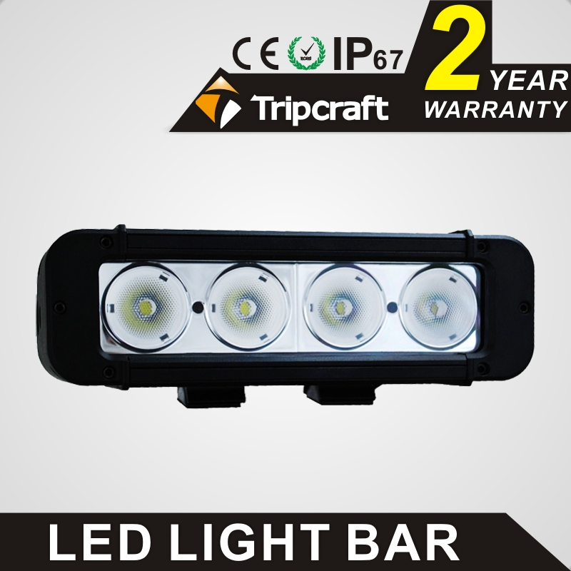 TRIPCRAFT 40W LED WORK LIGHT BAR 7.8inch spot flood combo beam  for Tractor ATV Motorcycle Offroad 4X4 Fog light driving lamp