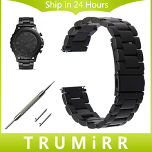 Quick Release Stainless Steel Watchband for Fossil Q Tailor Gazer Founder Wander Crewmaster Grant Marshal Watch Band Wrist Strap