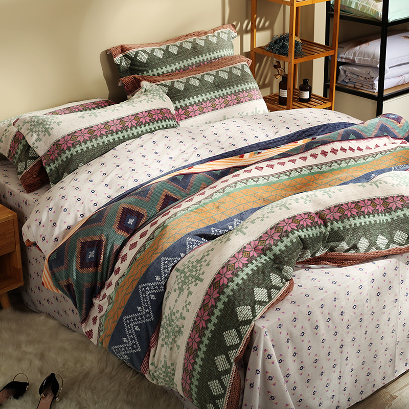 christmas flannel duvet cover sets queen king size bedding sets for adults soft