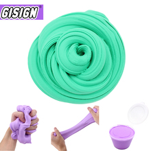 Box Slime Supplies Fluffy Kit DIY Soft Clay Light Charms Floam Slime Glue Putty Antistress Cotton Plasticine Toys for Children