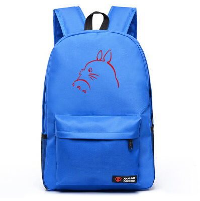 My Neighbour Totoro Luminous Printing Canvas Backpacks (5 Colors Available)