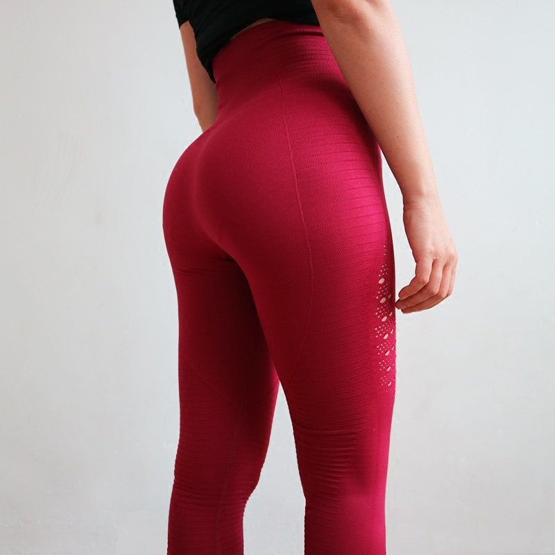 Oyoo Super Stretchy Gym Tights Energy Seamless Tummy Control Yoga Pants