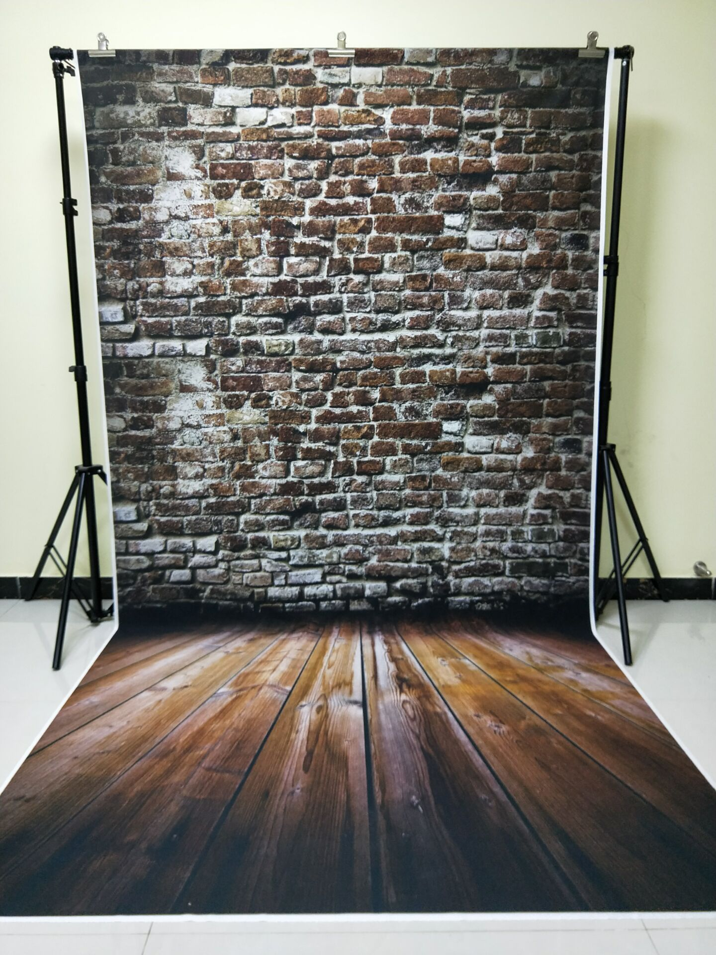 HUAYI 5x10ft Cotton Polyester Brick Wall Photography Backdrop Washable Photo Studios Baby Props Background KP-371 huayi 4pc 2x2ft wood floor brick wall backdrop vinyl photography backdrops photo props background small object shooting gy 019