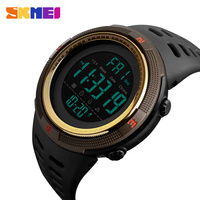 SKMEI Waterproof Mens Watches New Fashion Casual LED Digital Outdoor Sports Watch Men Multifunction Student Wrist