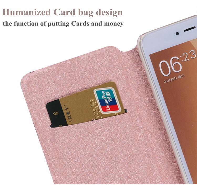 Xiaomi Mi A2 Lite Case- ը Flip 5.84-ի կաշվե հեռախոսի - Բջջային հեռախոսի պարագաներ և պահեստամասեր - Լուսանկար 5