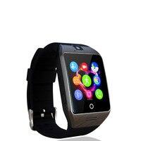 2016ใหม่NFCสมาร์ทนาฬิกาQ18S Arcนาฬิกาที่มีซิมTFบัตรการเชื่อมต่อบลูทูธสำหรับiphoneโทรศัพท์A Ndroid Smartwatch PK GV18 APRO