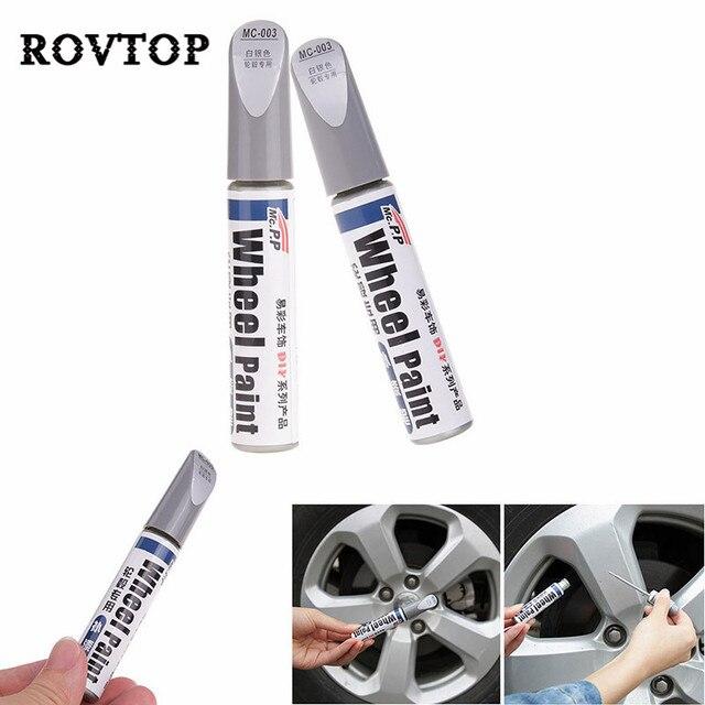 車の自動車スクラッチフィラー修理カバーペン防水タイヤホイール塗装補修マーカーペン非毒性車の塗装リフレッシュ #2