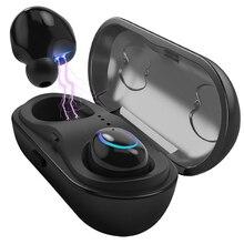 Беспроводной Bluetooth наушники-вкладыши Беспроводной наушники стерео наушники Спорт гарнитура СПЦ с микрофоном для xiaomi samsung iphone