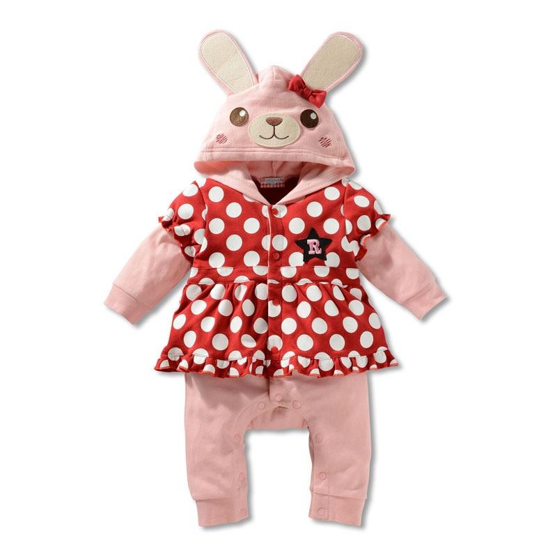 58d17ceffac2 Roupa Infantil Menina Spring Autumn Baby Boys Rompers Cartoon Animal Baby  Costume Infant Fashion Roupa Infantil Menina
