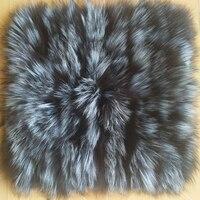 Real Fox fur pillow Cover Decorative Pillows Home Decor Fur Cushion Cover Pillow case Cushions Home Decor Almofada Sofa Cover