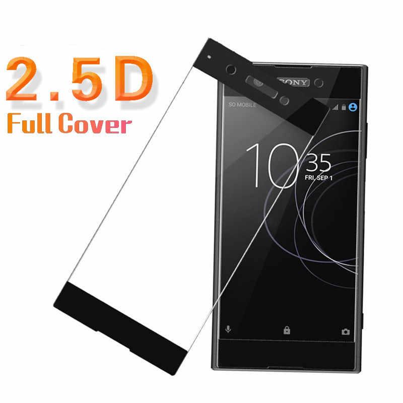 מלא כיסוי מגן זכוכית עבור Sony Xperia XA 1 XA1 XA2 אולטרה בתוספת XZ1 קומפקטי XZ S מסך מגן מקרה עבור Xperia XZ פרימיום