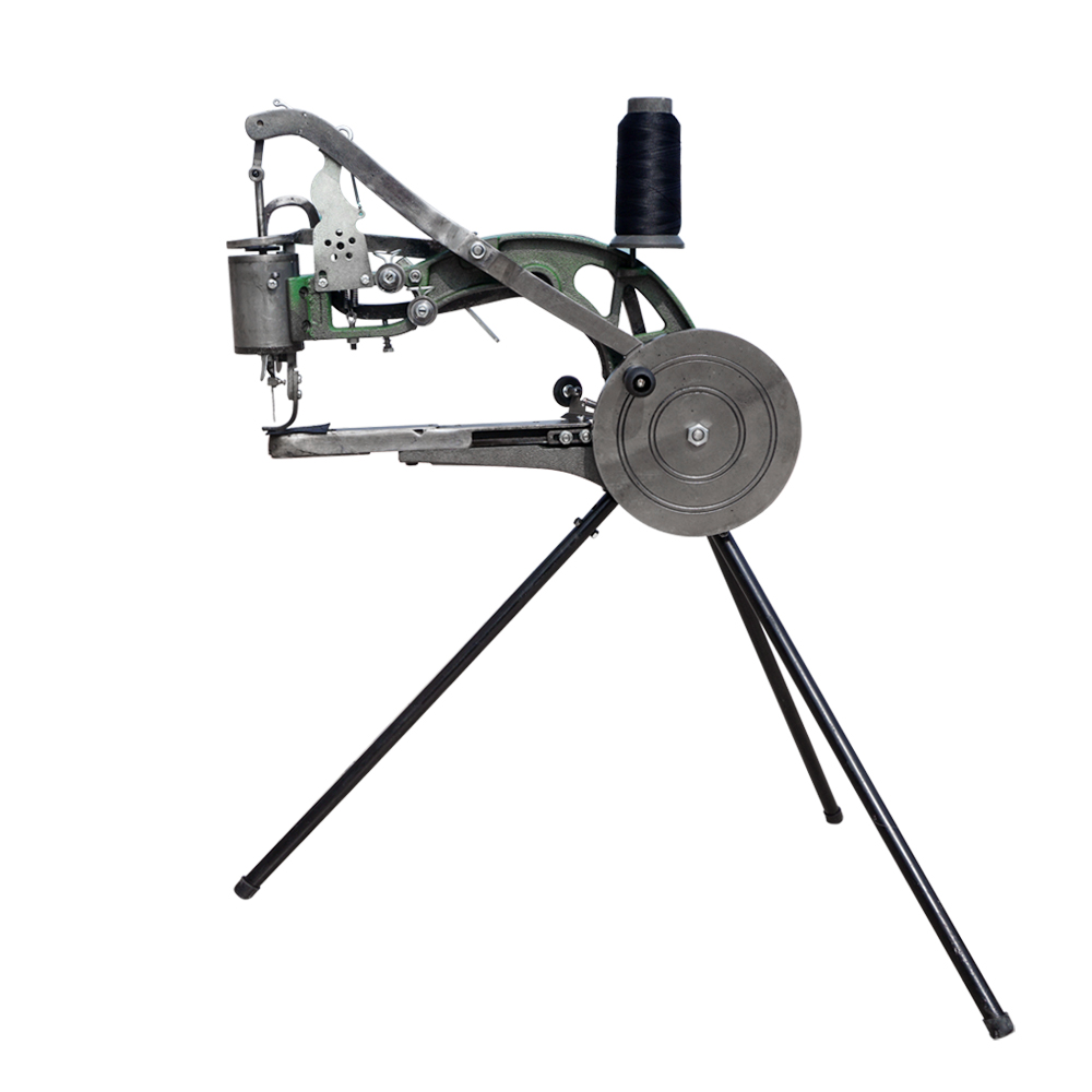 New Leather Cobbler Shoe Repair Machine Dual Cotton Nylon Line Sewing Machine new manual shoe making sewing machine