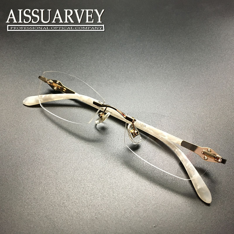 Rimless Eyeglass Frames With Bling : ?Women glasses frame fashion eyeglasses ? optical optical ...