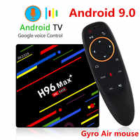 H96 MAX Plus TV Box Android 9.0 décodeur intelligent RK3328 4GB 32GB 64GB 5G Wifi 4K H.265 lecteur multimédia H96 Pro H2 PK X96 MAX