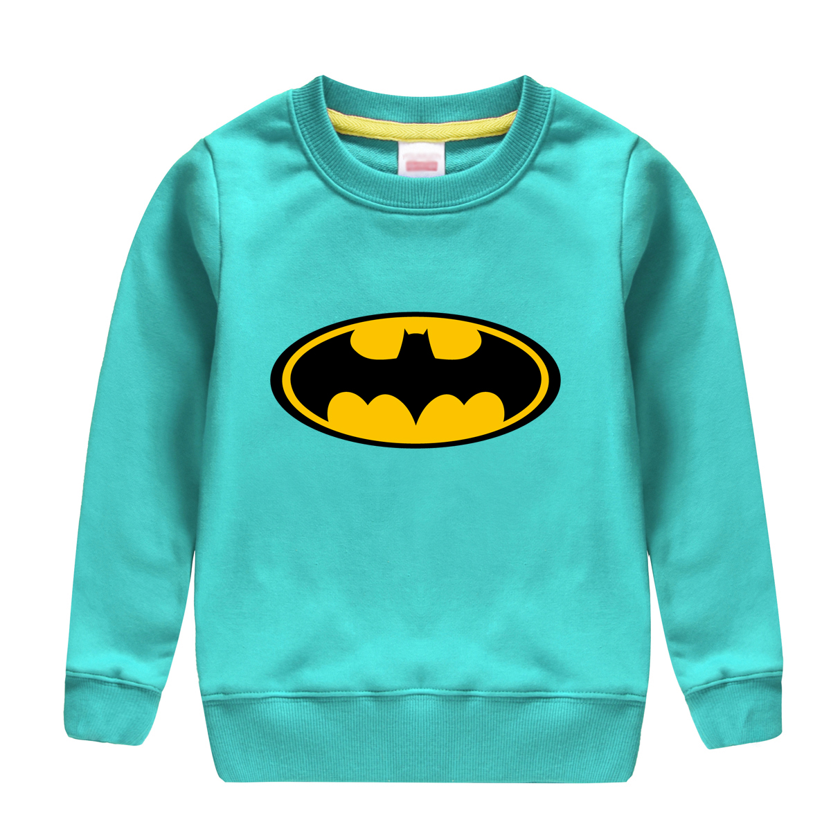 2018 hot sale Batman patten printed winter autumn sweatshirt full sleve O-neck cotton pullover baby boy hoodie clothing for kids