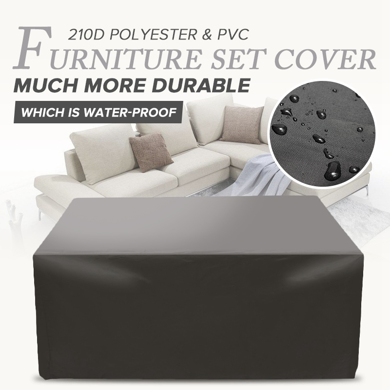 Outdoor Furniture Cover Waterproof Sofa Protection Set Chair Table Cover Garden Patio Beach Protector Rain Snow Dustproof CoverOutdoor Furniture Cover Waterproof Sofa Protection Set Chair Table Cover Garden Patio Beach Protector Rain Snow Dustproof Cover