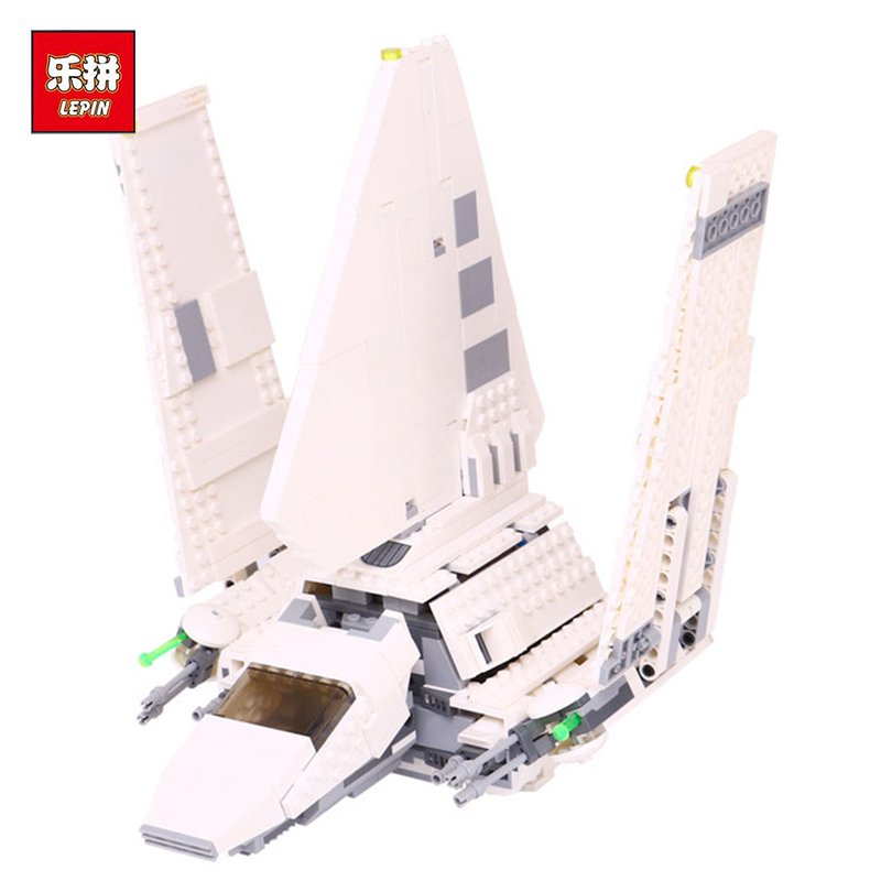 New LEPIN 05057 Star War Series Imperial Shuttle Tydirium Building Blocks Bricks Assembled Toys Compatible with 75094 Gifts lepin 22001 pirates series the imperial war ship model building kits blocks bricks toys gifts for kids 1717pcs compatible 10210
