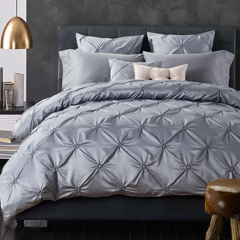 Achetez en gros gris housse de couette en ligne des - Housse de couette lit king size ...