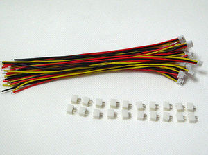 Hot Sale 40 SETS Mini Micro ZH 1.5 3-Pin JST Connector with Wires Cables