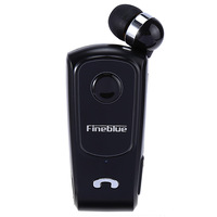 Original FINEBLUE F920 Wireless Bluetooth Headphone Hands Free Call Vibration Remind Wear Clip Headset For IPhone