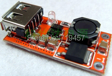 FREE SHIPPING 5V 3A High Efficiency 95% Boost USB Power Module