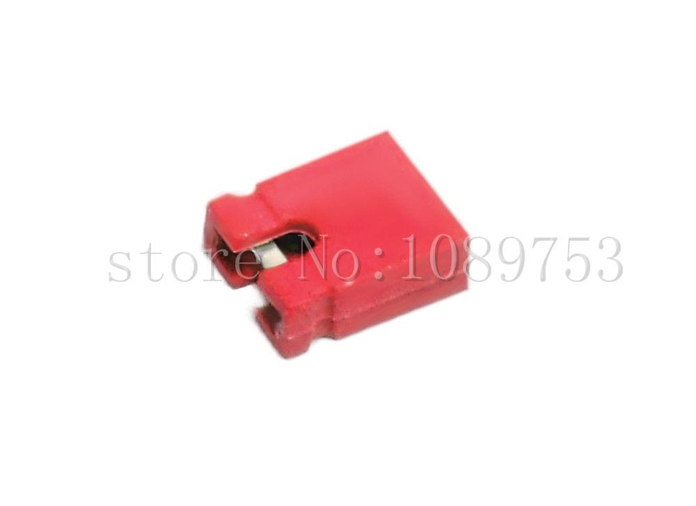 1000 Pcs Red Mini Micro Jumper 2.54mm Standard Circuit