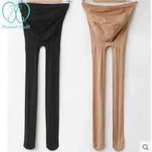 Tights Stocking Maternity-Belly-Legging Pregnancy-Pantyhose for Elastic-Strap Adjust
