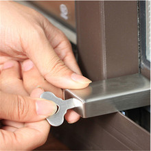Cabinet Locks & Straps Children Safety Anti-theft Lock Stainless Steel Window Door Limiter Baby Protection