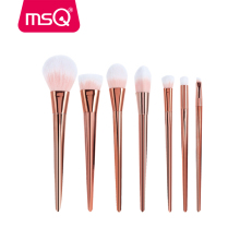MSQ 7pcs NEW Techniqueing Makeup Brushes Set Acrylic Diamond Shape Makeup Brushes Synthetic Hair Powder Eyebrow Make Up Brushes