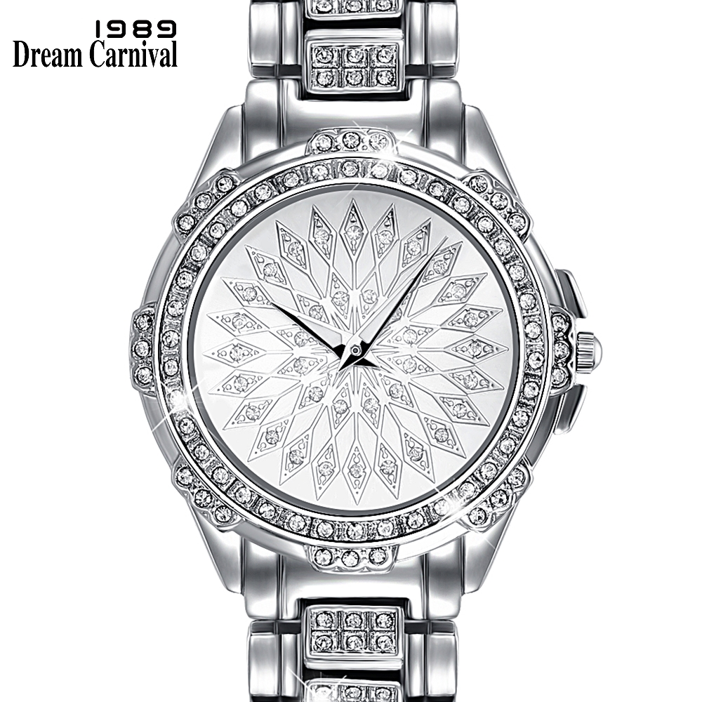 Dreamcarnival 1989 Just Arrived Women Crystal Wrist Watch Quartz 3 Hands Dubai Saudi Best Selling Party Anniversary Gift A8325Dreamcarnival 1989 Just Arrived Women Crystal Wrist Watch Quartz 3 Hands Dubai Saudi Best Selling Party Anniversary Gift A8325