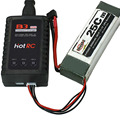 Universal B3 20W High Power Fast Charger For Li-polymer Lipo Battery 7.4V/11.1V LIPO Battery Charger Black Easy Carry
