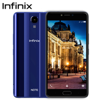 Infinix NOTE 4 SmartPhone 32G 3G OCTA CORE Fingerprint 4300mAh 5.7cell phone
